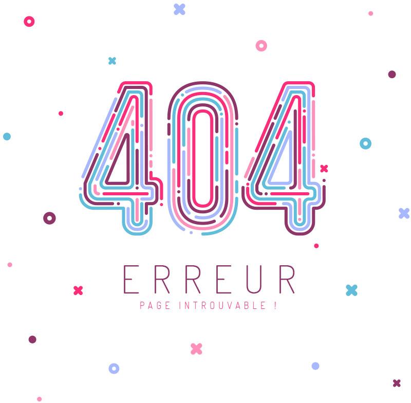 404 erreur