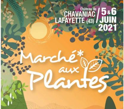 Marché aux plantes 5 et 6 juin 2021